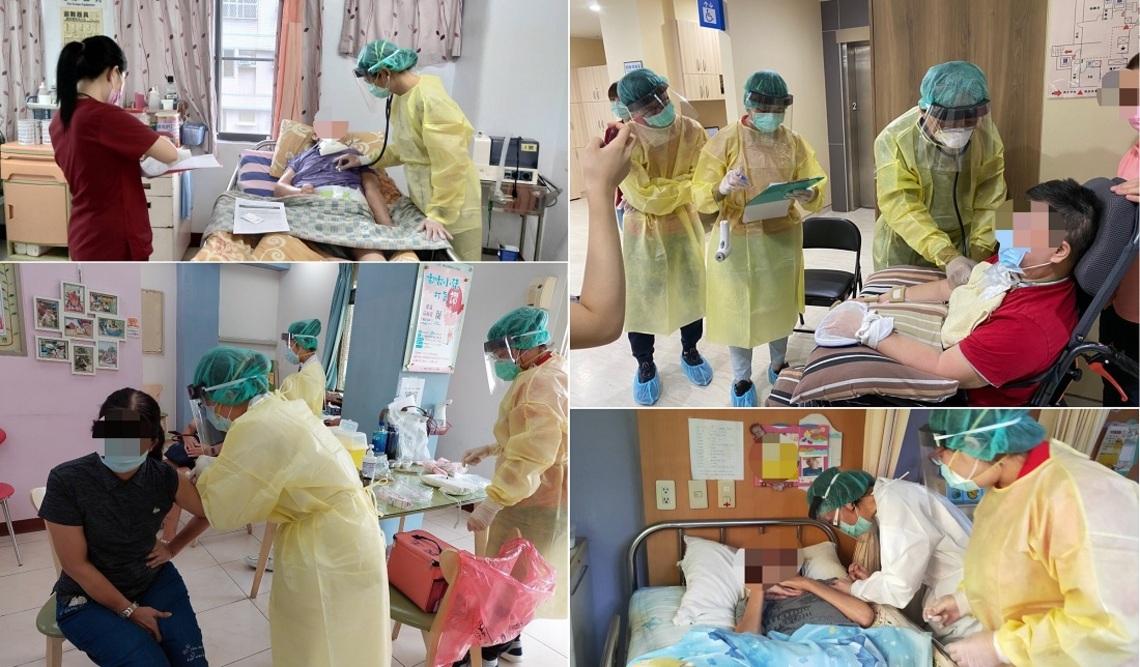 照顧長照機構住民及工作人員    民生醫院到場服務施打疫苗/波新聞