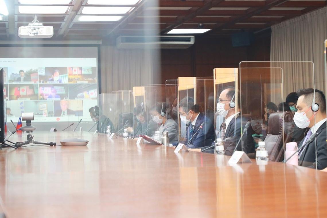 「台美日國會議員戰略論壇」首屆視訊會議順利舉行/波新聞