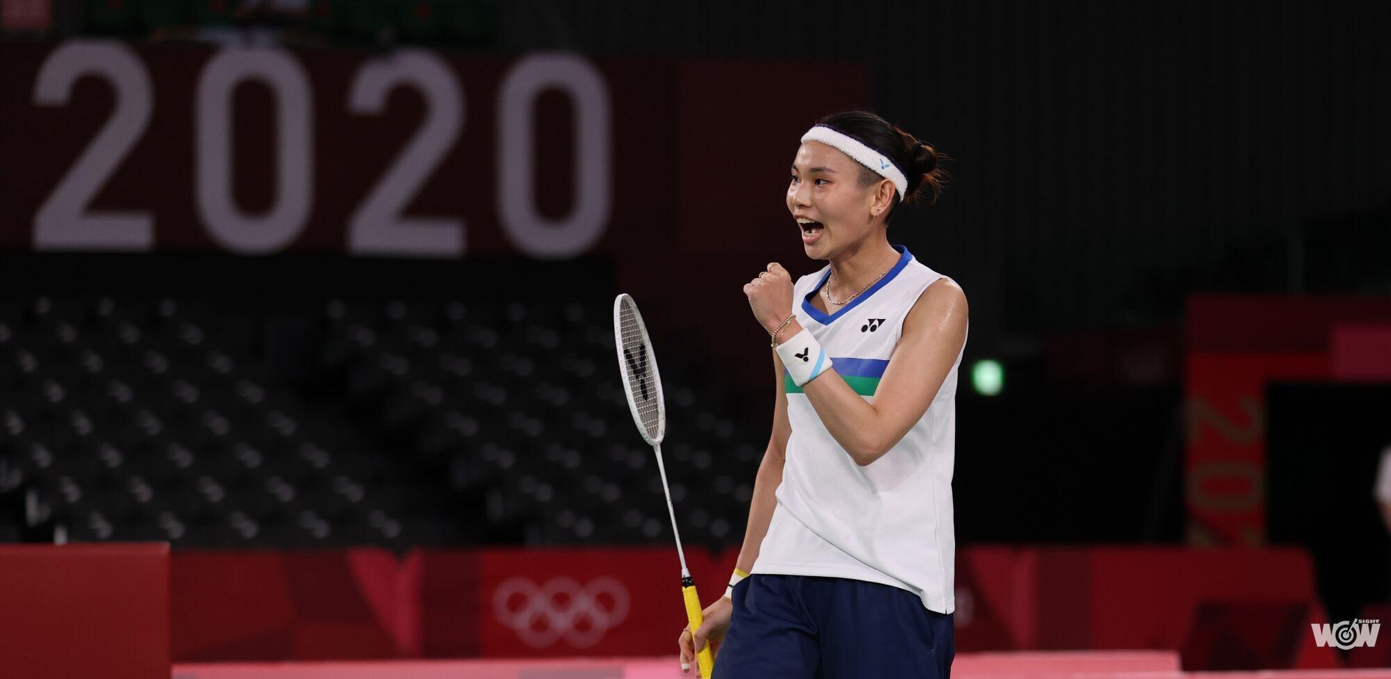 《奧運》拚進四強雙膝紅了 戴資穎台灣女單史上第一人