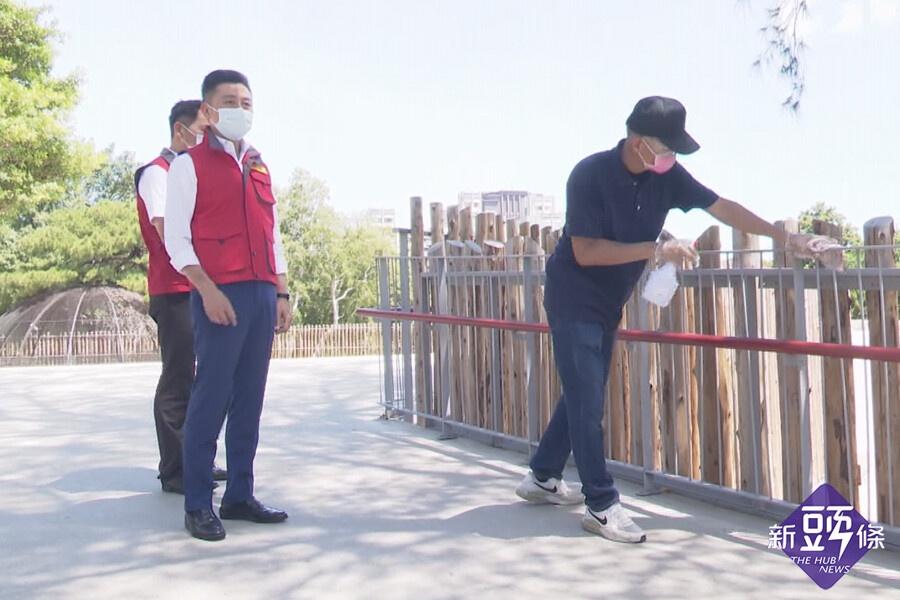 竹市動物園降二級首個周末  林智堅視察防疫措施