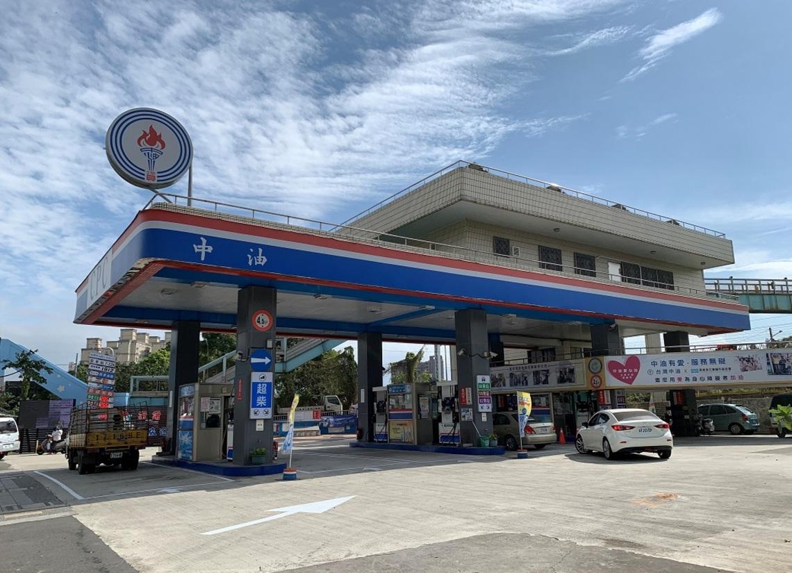 中油:10/4起汽、柴油各調漲0.1元