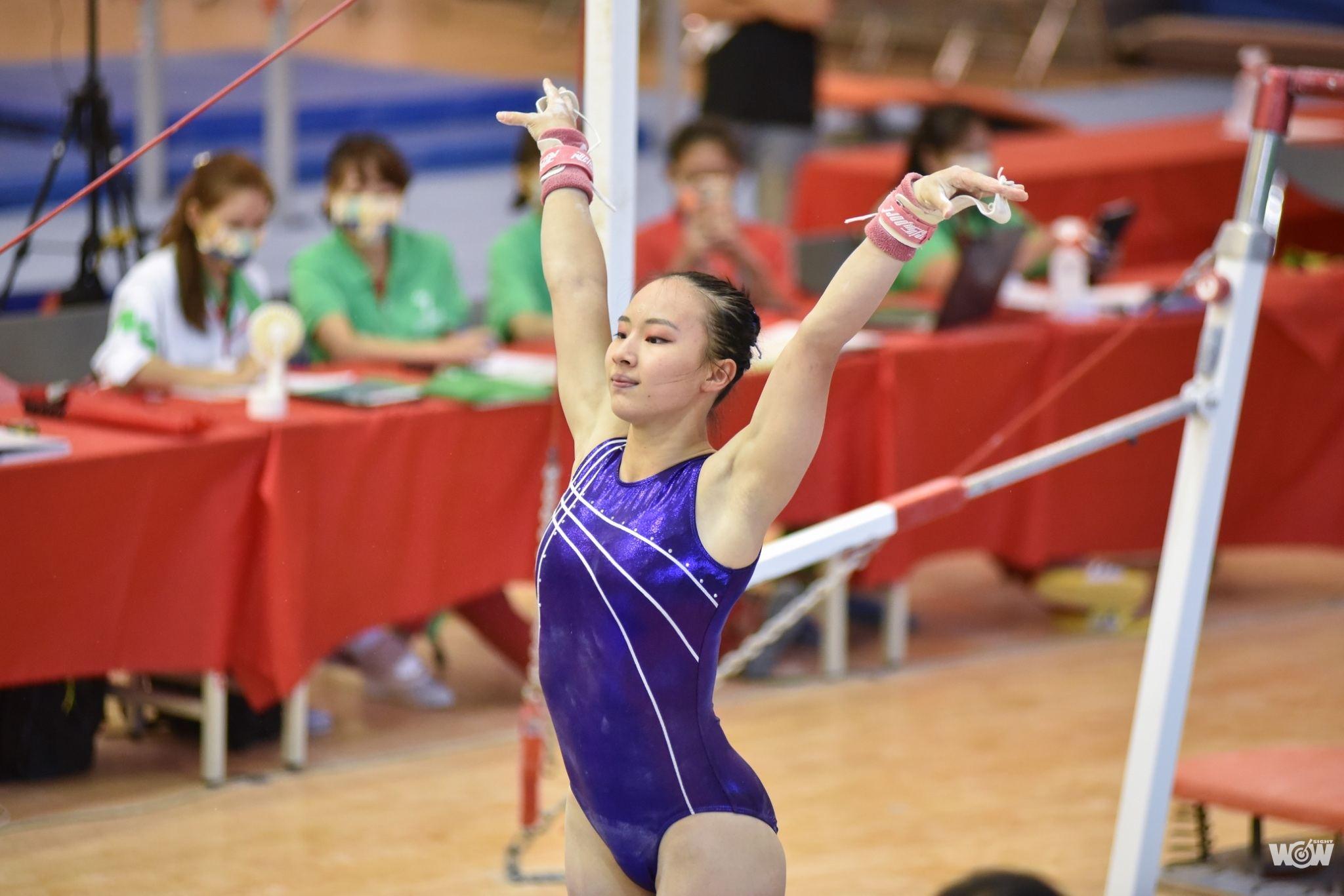 《全運》丁華恬神級表現 新北市女子體操重返榮耀