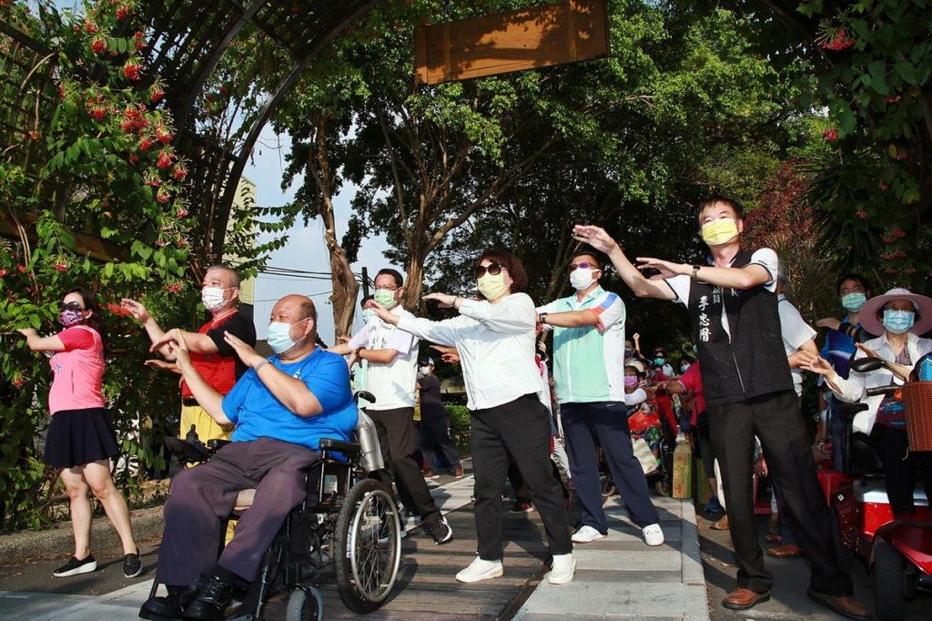 嘉義市體育會舉辦 享受身心障礙者健康走