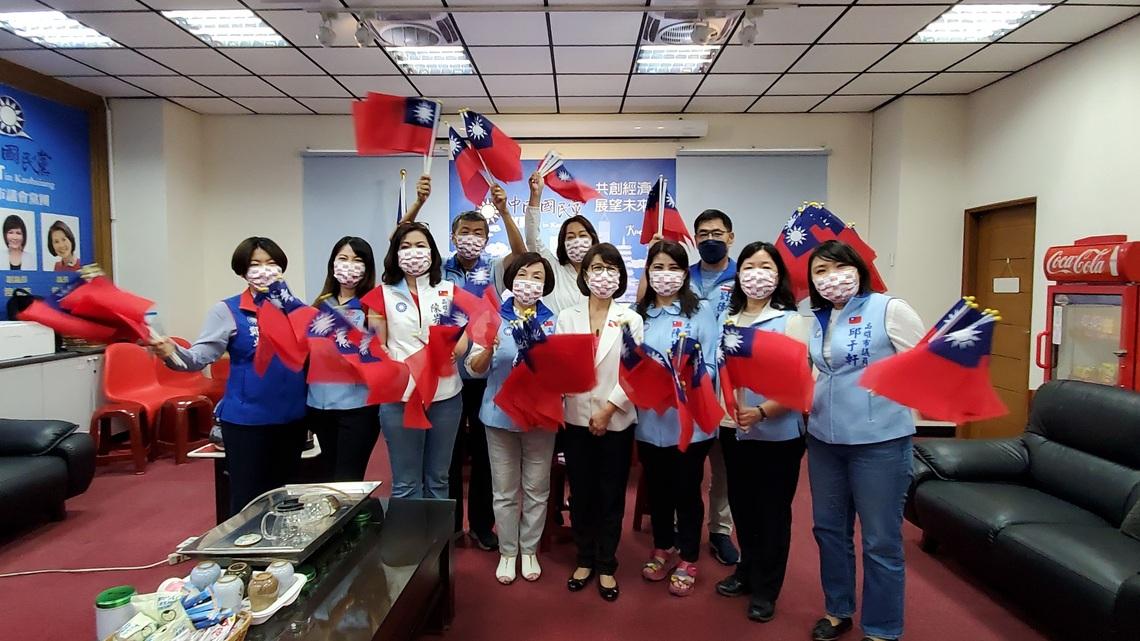 高雄市議會國民黨團,發起『愛國家、護國旗』  呼籲民進黨團應善盡職責,監督市府國慶規劃