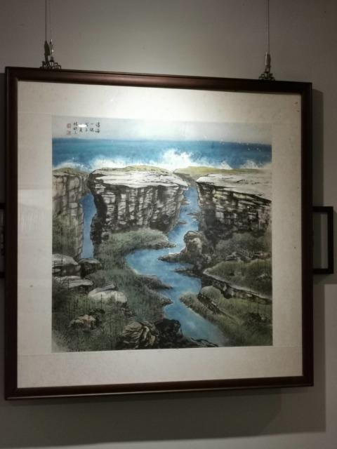 藝術家吳春金與林欽三攜手雙個展 《蛻變》《台灣山水情》台中夏綠蒂餐廳同登場