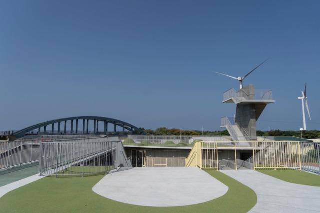 17公里海岸線新景點    竹市首座原民地景式建築「那魯灣文化聚落」年底完工