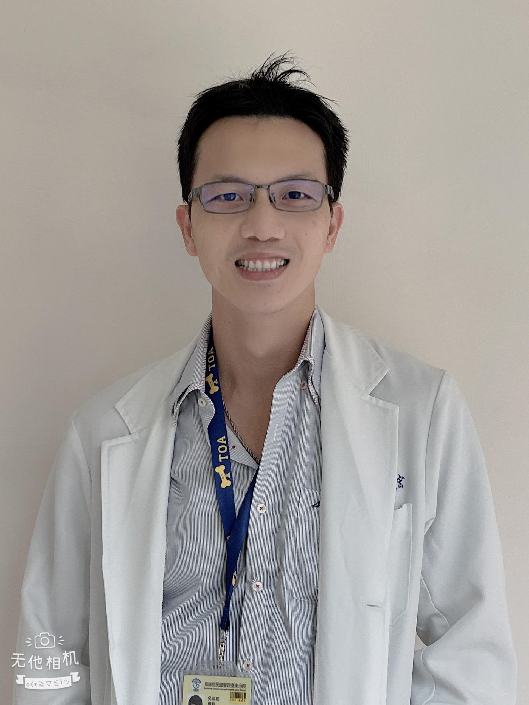 高雄榮總台南分院高齡骨科主任陳建宏醫師。(圖/陳建宏提供)