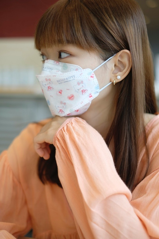三麗鷗粉絲必收!全台首款Hello Kitty聯名韓版4D立體醫療口罩限量上市