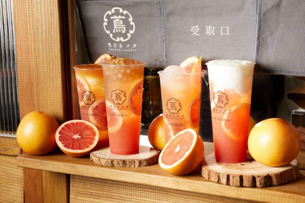 台灣第一愉悅系手搖飲「蔦日子」10月『西柚祭』開跑  選用紅寶石等級西柚5款全新飲品上市