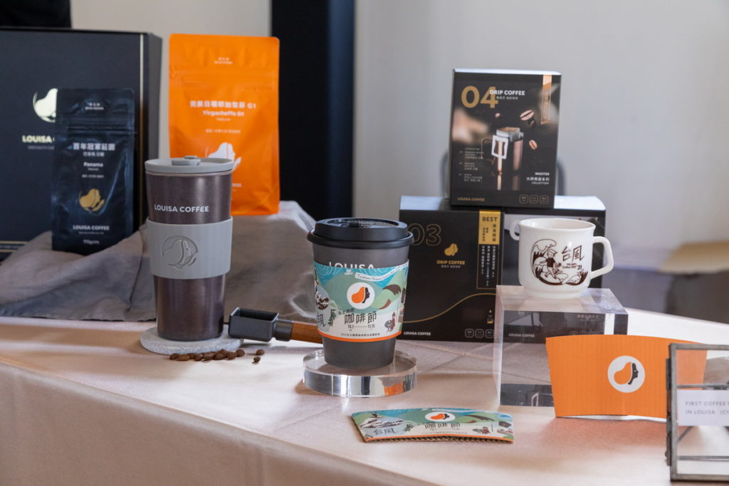 咖啡店家聯名產品「台風CoffeeBox」展示2