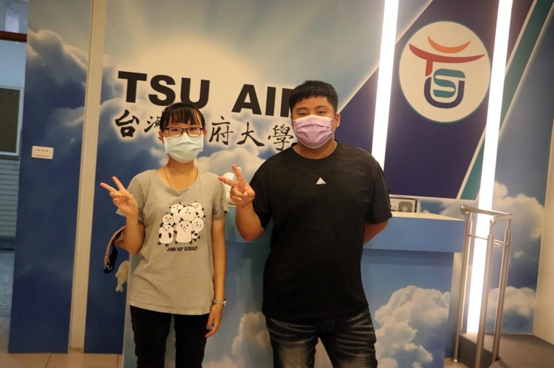 台灣首府大學觀光系蔣世昌、陳玟卉參加遊程競賽    獲「推薦遊程獎」