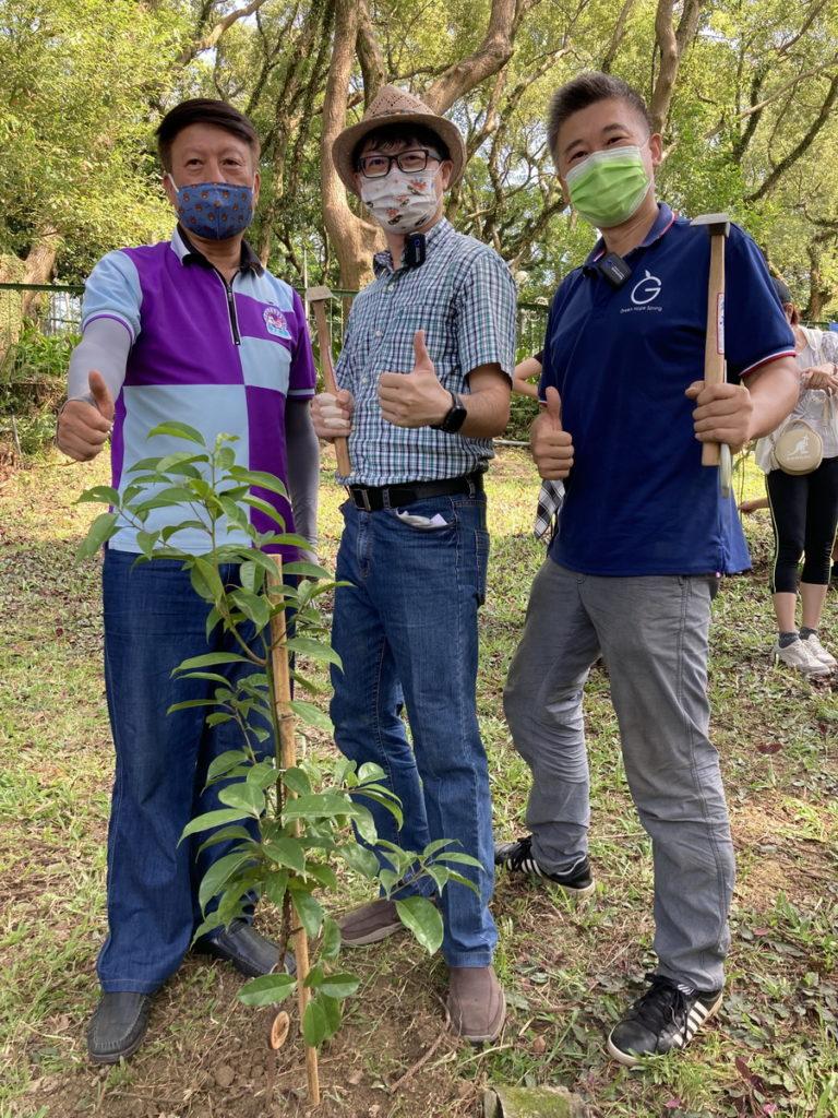 綠色冀泉攜手南和旅遊首推全台森度旅行  ESG加種樹支持以樹養球十月劍湖山首發
