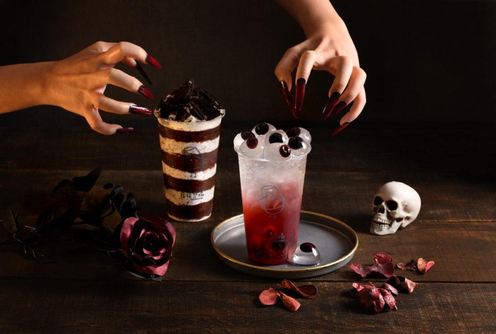 緋紅女巫波波水與Oreo暗黑三重奏呈現兩種截然不同風格,一次滿足你的搞怪童心與嗜甜味蕾