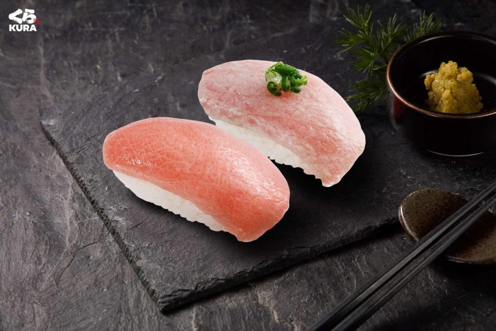 饕客最愛的「熟成鮪魚大脂」與「炙烤鮪魚大脂」,為此次不容錯過的必點單品。
