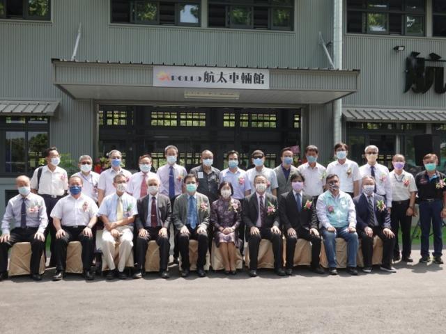 耗資七千餘萬元 吳鳳科大成立航太車輛館