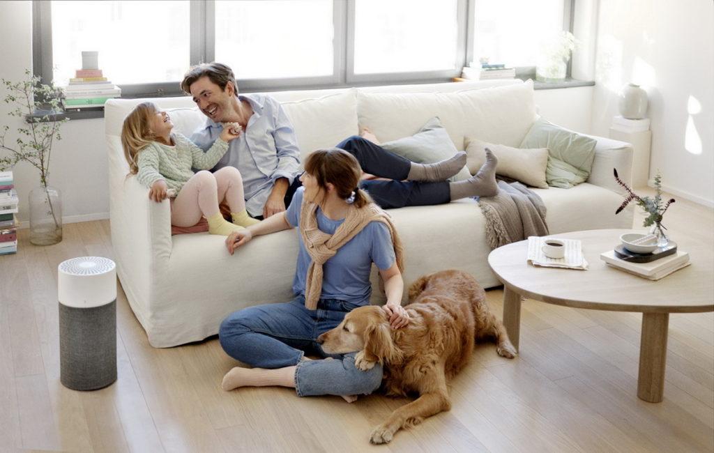 【Blueair情境圖】輕巧時尚、智能淨化3系列  親子家庭、寵物必備!