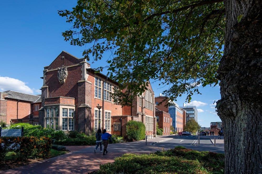 古色古香的南安普頓大學Hartley圖書館 (圖片提供:英揚留學顧問有限公司)