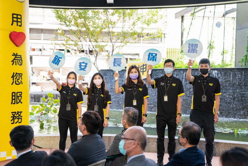 燦坤實體門市獨有暖心服務,「新安長保潔」提供「人」的貼心互動及最完善的購物體驗