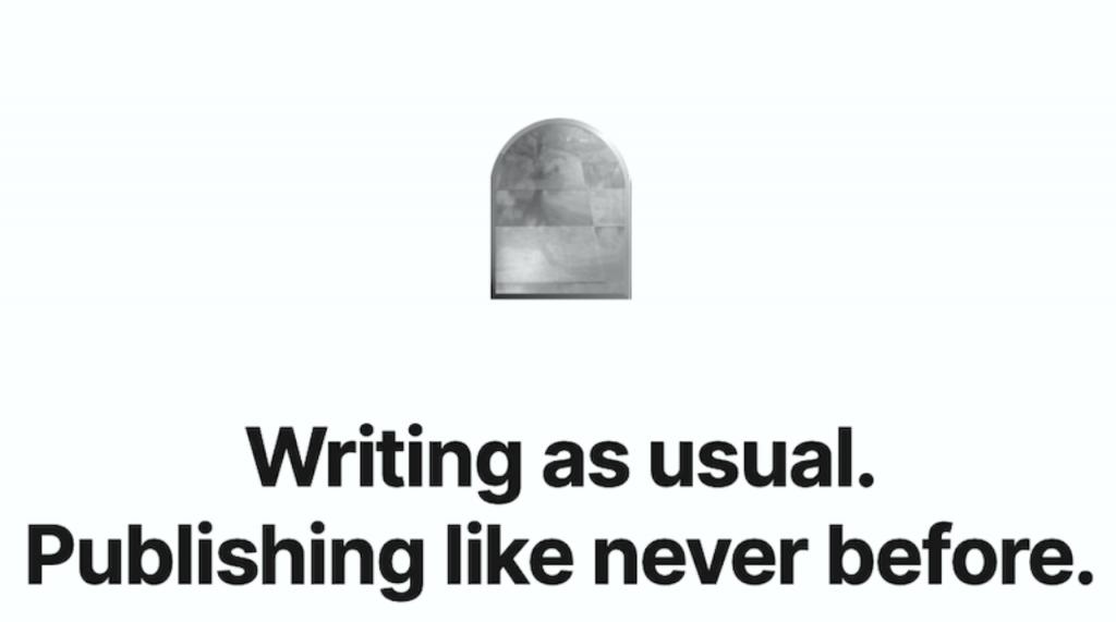 寫作平台Mirror開放使用,文章永久保存於鏈上,還可鑄造成NFT、發行群眾募資