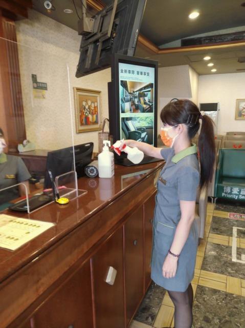 迎接國慶假期 客運場站落實防疫措施