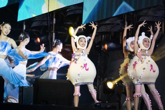 110年國慶晚會   空軍新竹基地盛大登場     總統蔡英文讚:新竹是延續幸福、充滿歡笑的城市