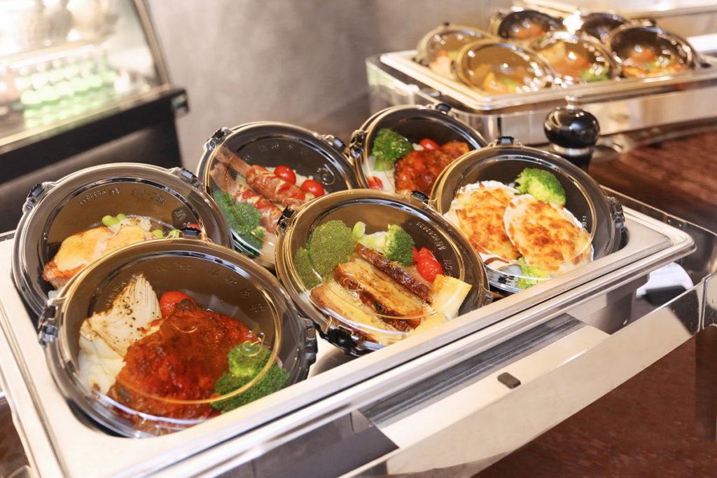 台北王朝大酒店-各式異國美味餐盒