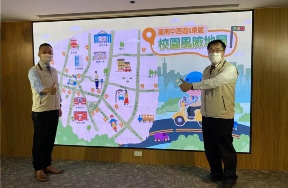 台南市區交通高風險22點列管