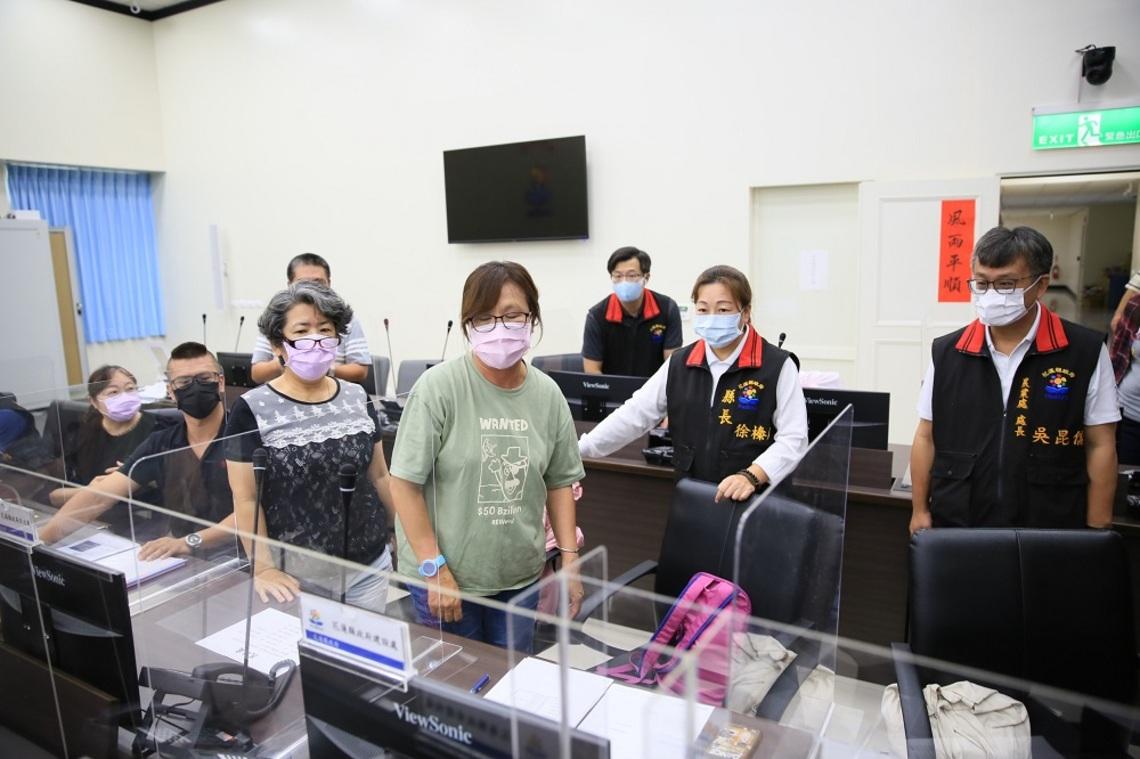 秀林鄉與萬榮鄉預警撤離     徐榛蔚指示各單位超前部署減少損失