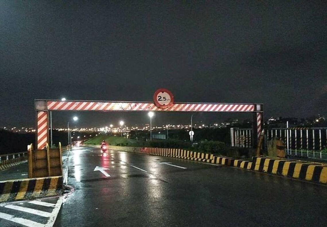 圓規颱風來襲  重新堤外道、忠孝碼頭等越堤道今晚9時封閉   請民眾儘速移車