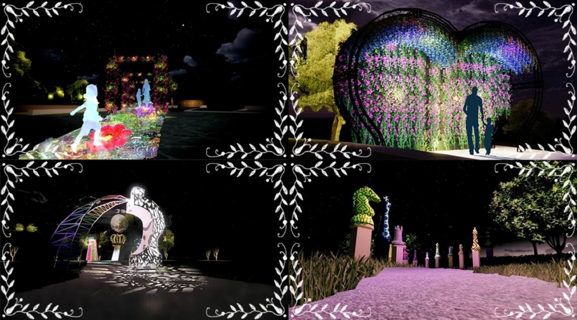 「做好防疫 迎向幸福」為主軸11月起低維度展出「光織影舞」雙主場點亮嘉義市!