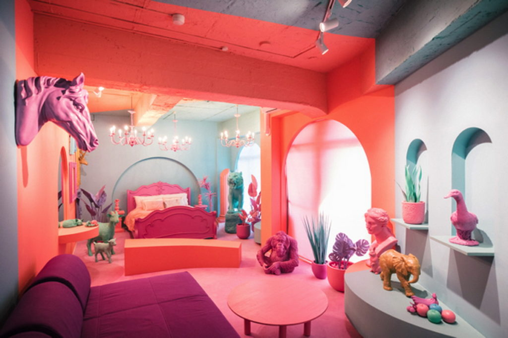 可愛爆表 亮眼吸睛 東京超萌旅店巡禮  「愛麗絲夢遊仙境房」、「寶可夢房」、「美樂蒂房」、「雙子星房」讓孩子們進房尖叫、大朋友重溫童趣