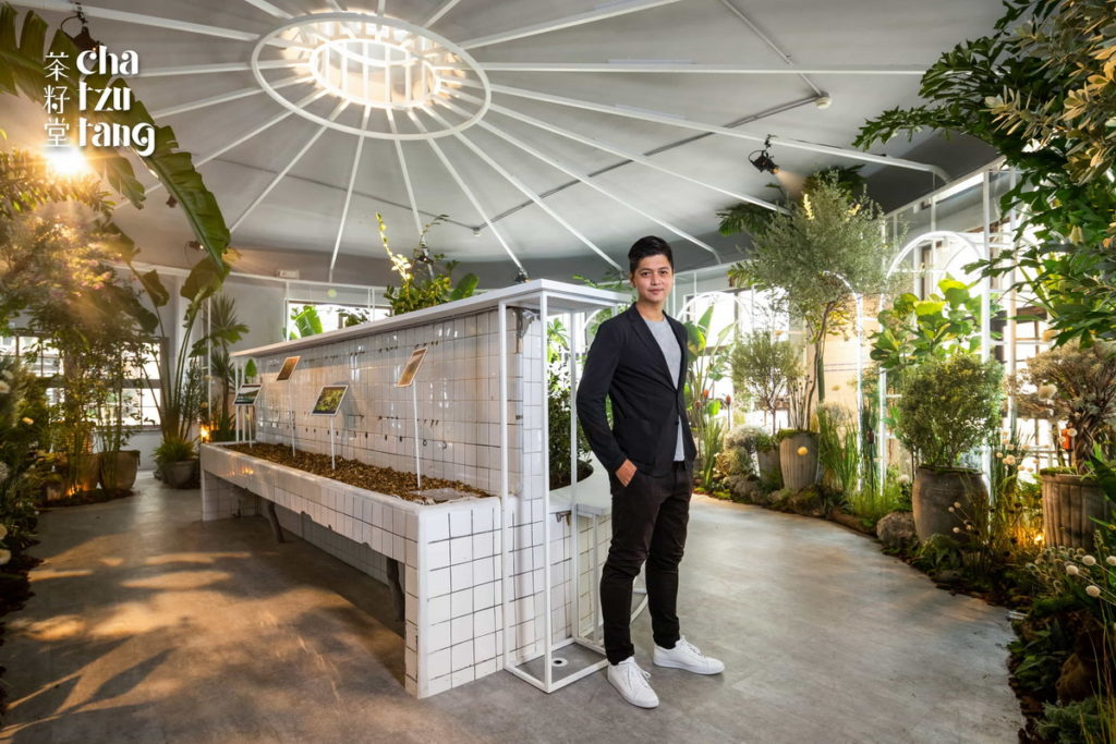 茶籽堂品牌創辦人兼執行長趙文豪。