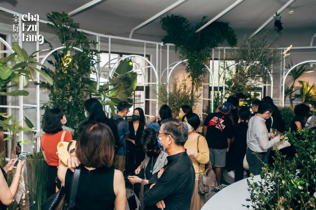 茶籽堂向土地借了療癒之力,帶到松山文創園區西向製菸工廠1樓遇.場,自10月16日到10月24日展出。
