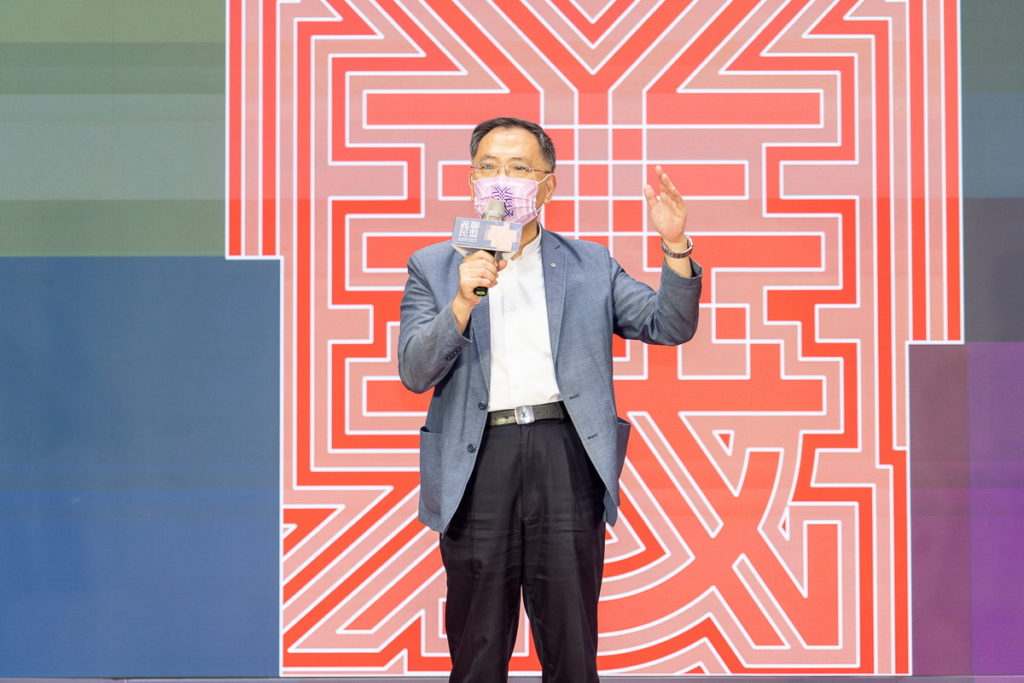 臺北市政府蔡炳坤副市長參與「2021臺北客家義民嘉年華」介紹今年虛實整合下的活動亮點