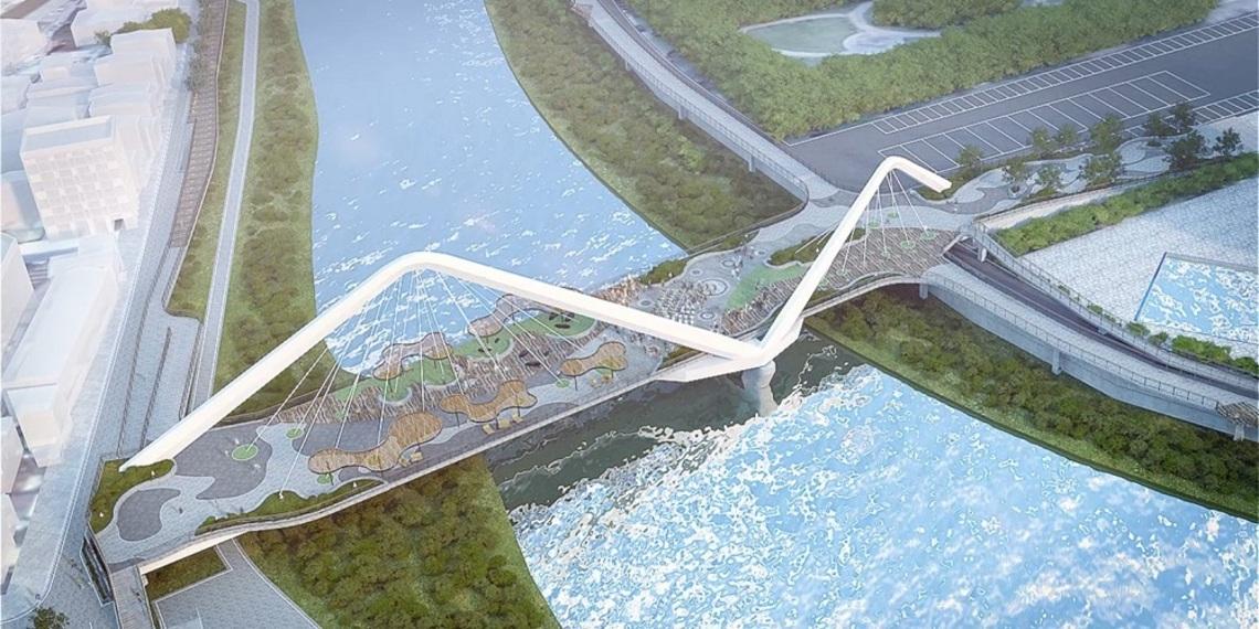 打造三峽新亮點   眾人催生長福景觀橋保安全