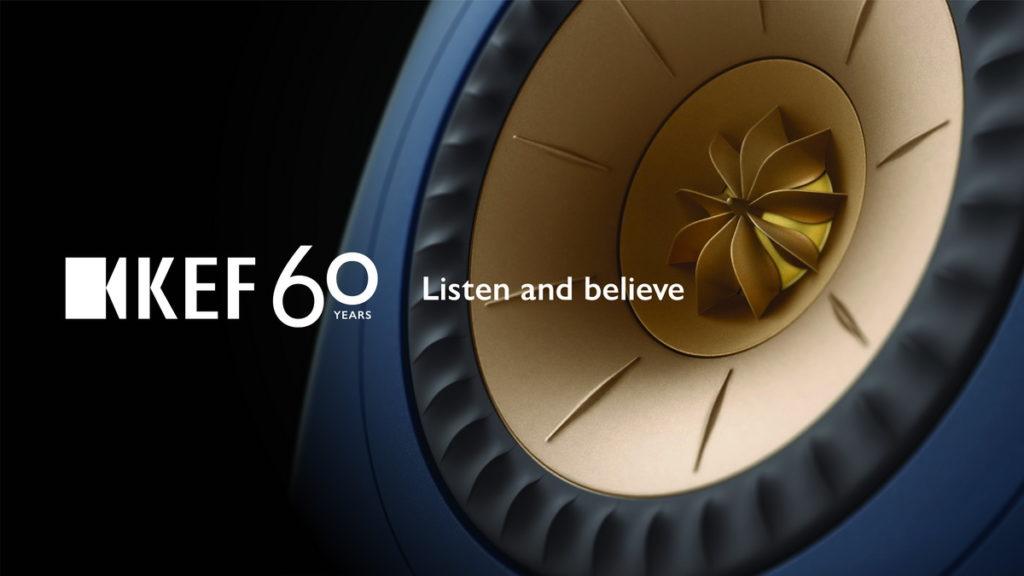 世界頂尖的殿堂級音響品牌 KEF,慶祝 60 年來引領著 HiFi 創新技術,並展望未來持續追求無與倫比的音效表現。