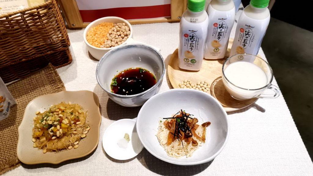 臺灣加拿大產官學策略合作展新局 「全豆利用」永續好食,創意健康料理-米豆米粉煎及日