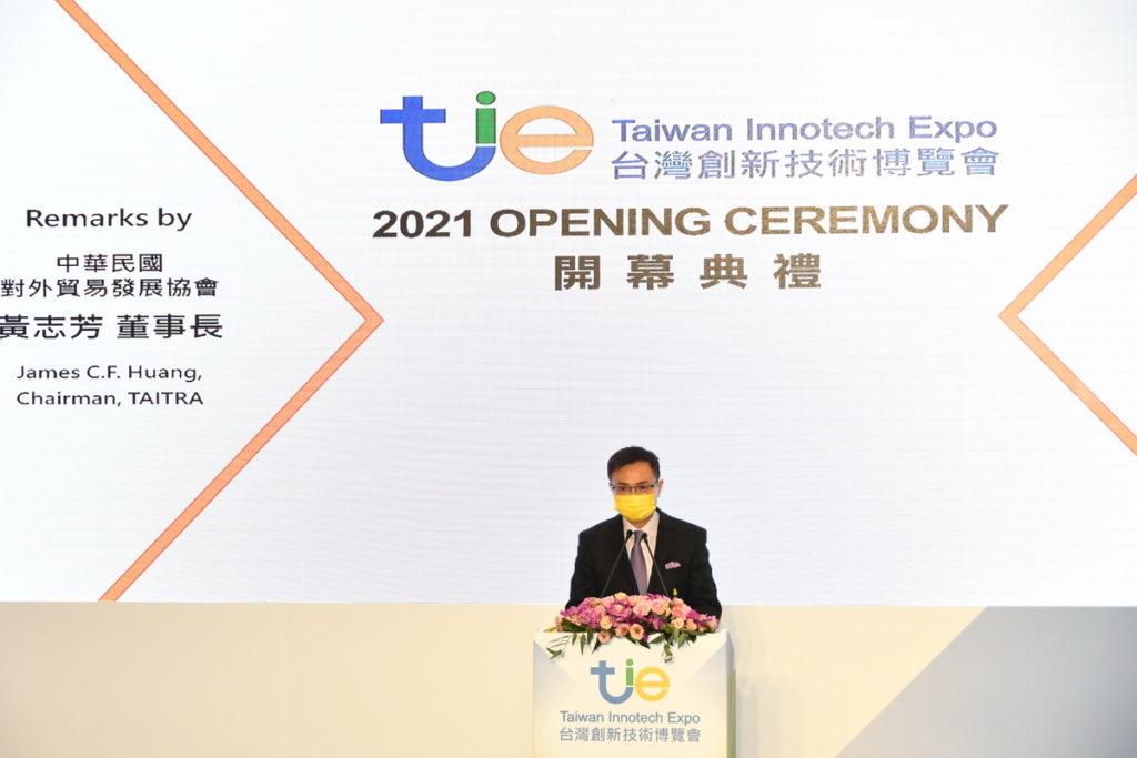 創博會執行單位貿協董事長黃志芳指出,創新是國家的DNA,也是外貿協會最重要的DNA。