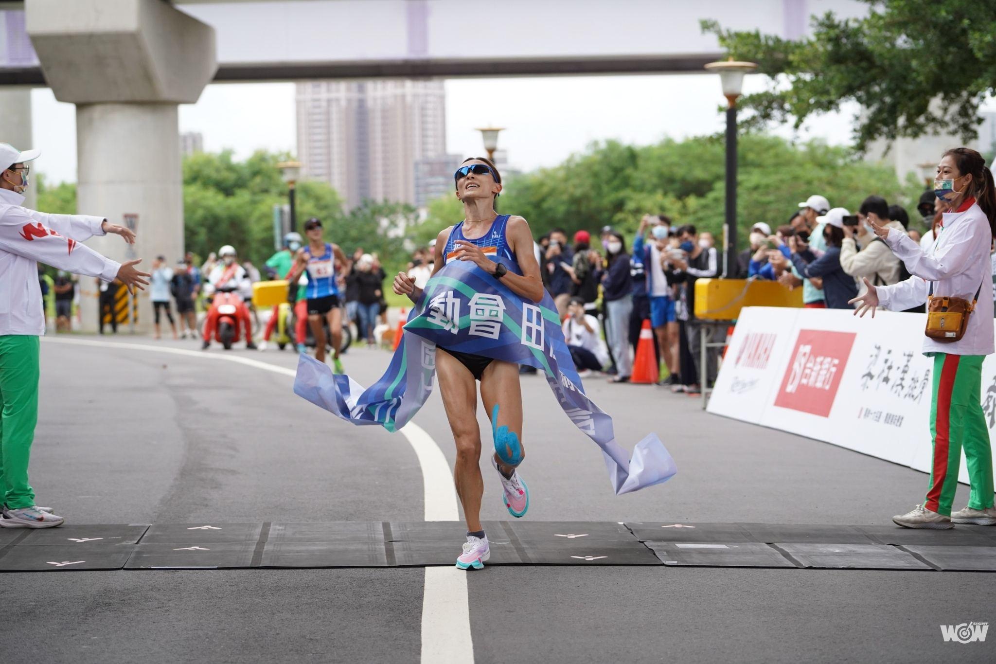 《全運》跑到兩小腿抽筋 謝千鶴意志力撐出馬拉松三連后