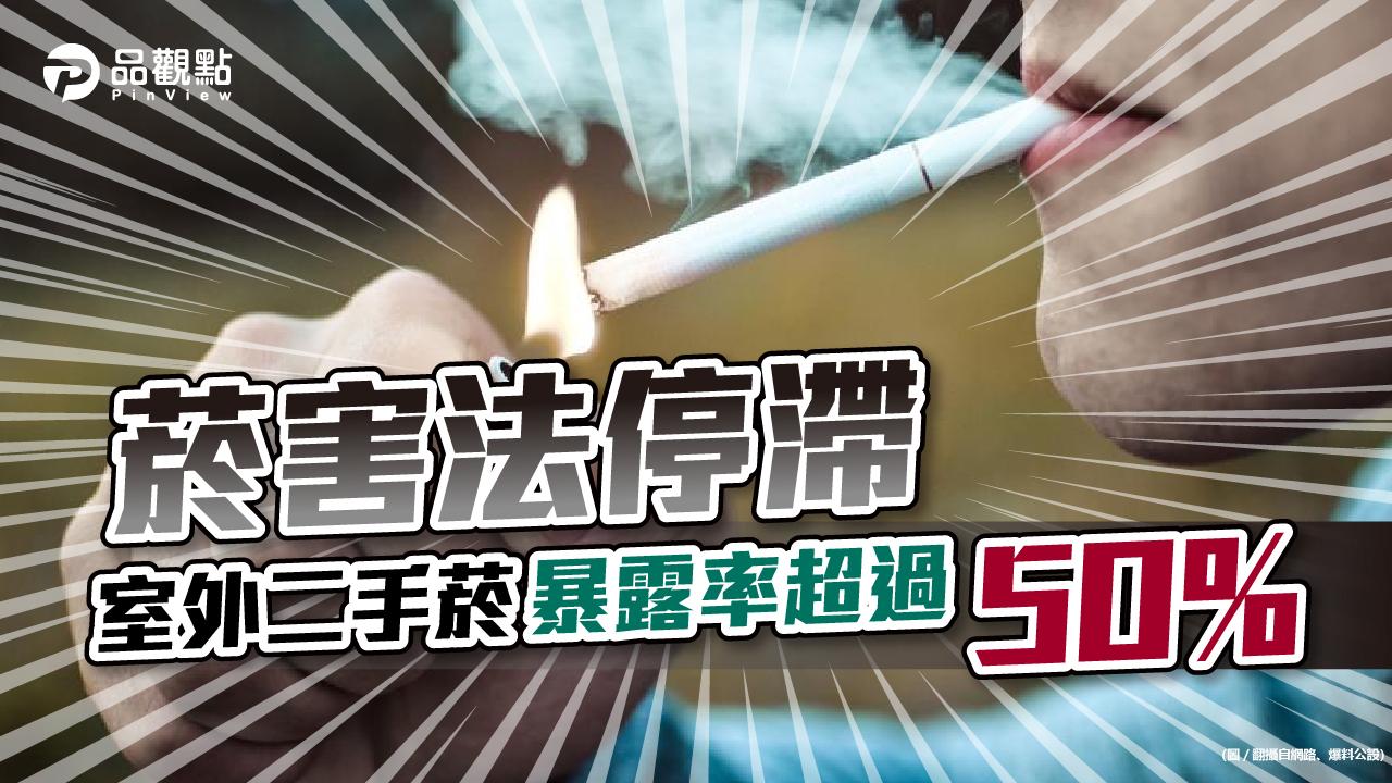 品觀點|菸害法遲不修法 導致二手菸危害暴增|政治
