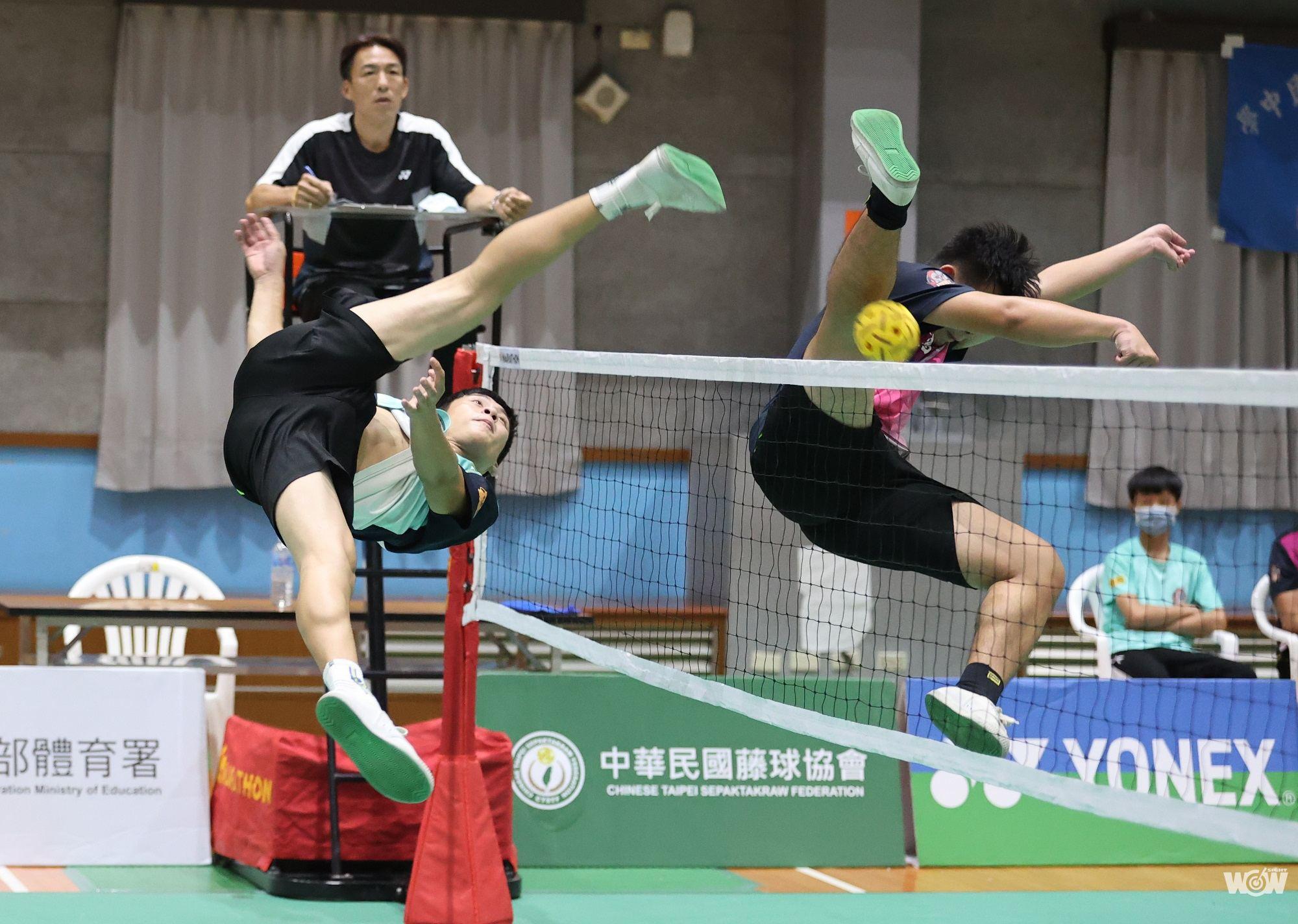 《藤球》青少年雙人賽開打 高中組由佳冬高農稱霸 士林國中橫掃國中組