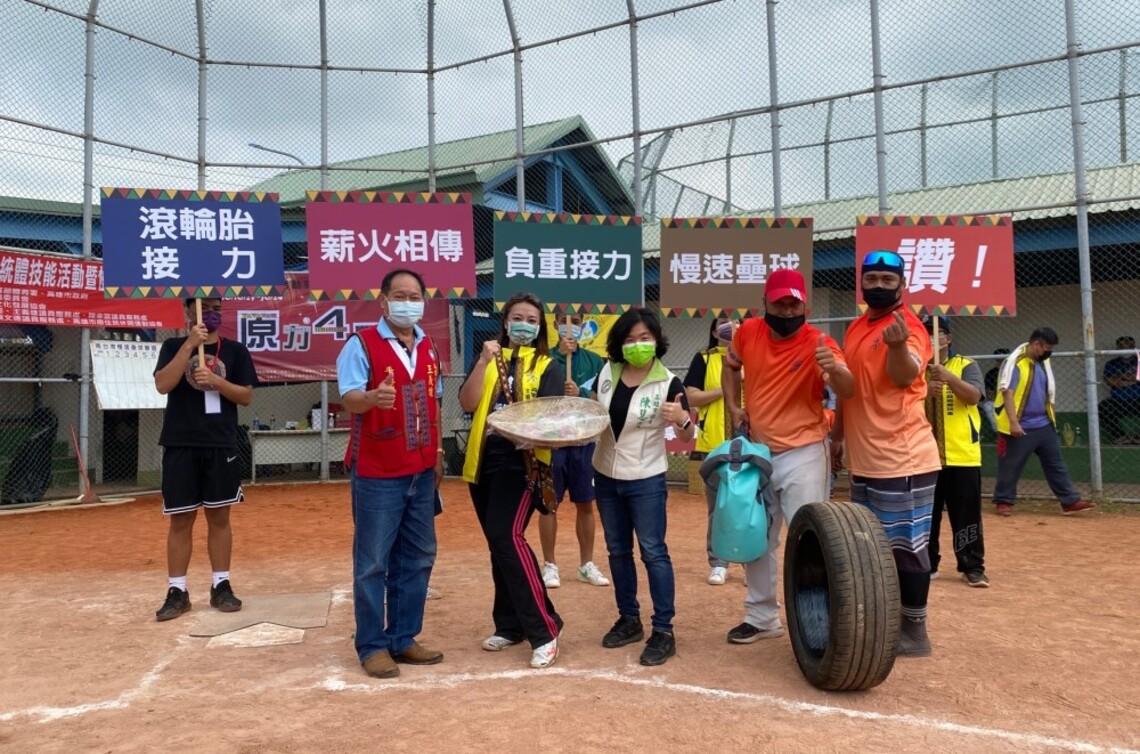 傳統競技暨壘球賽全力開打   全原運冠軍壘球隊也現身